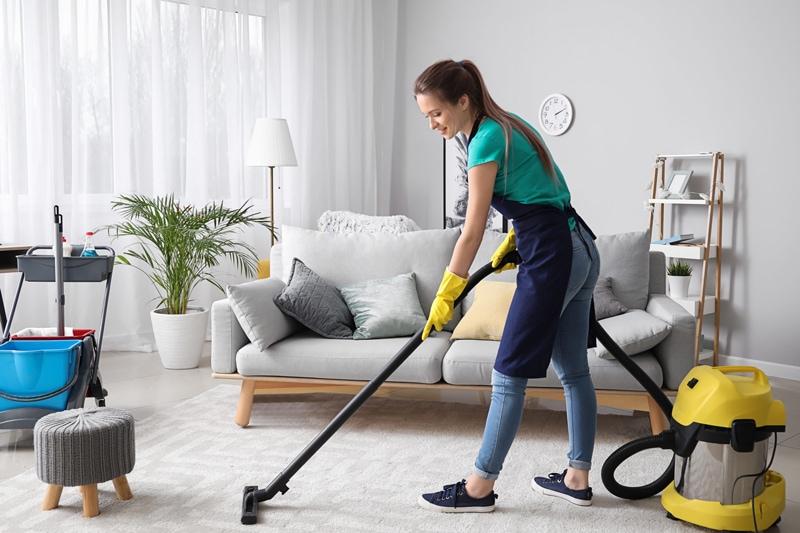 Contratar empresa de limpieza a domicilio