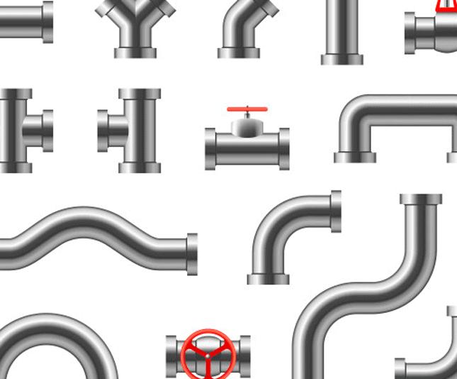Limpieza de las tuberías de gas